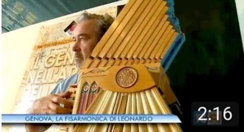 TGR Liguria - Genova, la fisarmonica di Leonardo (17.05.2015)