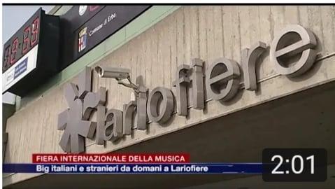 ETG - Fiera Internazionale della Musica. Big Italiani e Stranieri a LarioFiere (25.05.2017)
