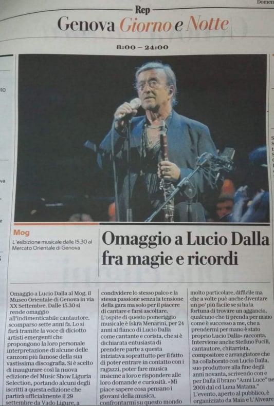 Ciao Lucio e la storia continua: La Repubblica
