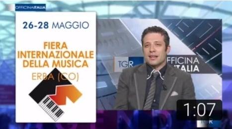 TGR Officina Italia - Fiera Internazionale della Musica Erba (CO). 5^ Edizione (26.05.2017)